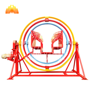 Factory hot sale human gyroscope attraction 6 seat high quality outdoor for with best service and low price