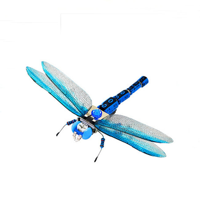 Wholesale student puzzle electronic insect Dragonfly robot model toy