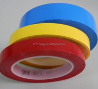 3M VHB pvc adhesive tape 471, multiple color,masking tape, 3M warning marking adhesive rubber 3M 471 tape silicone rubber