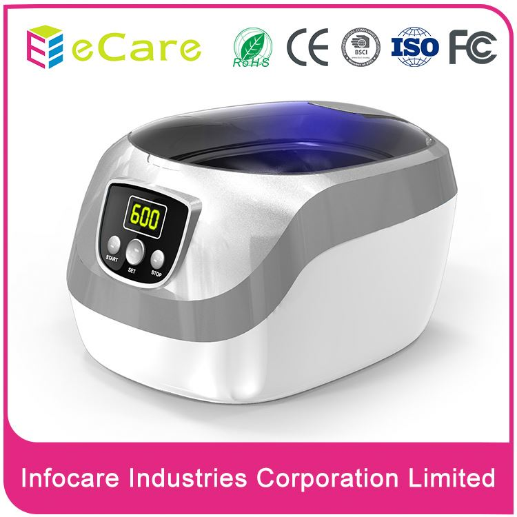 Hot selling watches digital ultrasonic cd cleaner