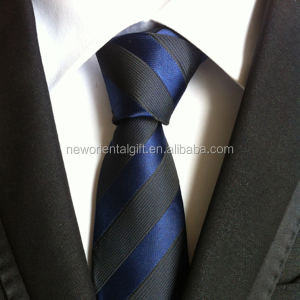 Men's Polyester Ties Newly Fashion Design Business Tie