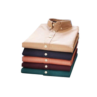 New arrival shirts warm cotton business dress latest shirt designs for men