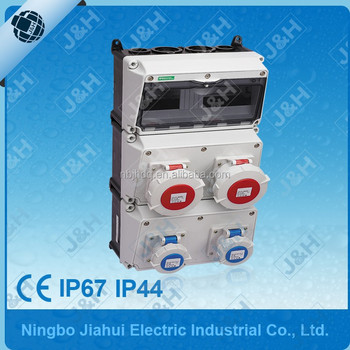 3 Phase Euro Combined Power Distribution Box,Made In China ...