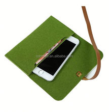 alibaba china polyester felt cell phone case for iphone 6, sublimation cell phone cases