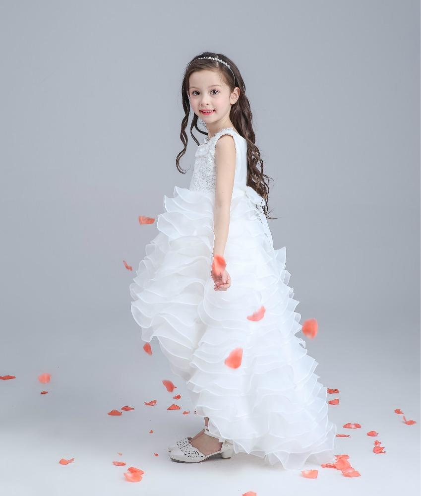 Venta al por mayor vestidos de damas de honor niñas-Compre online ...