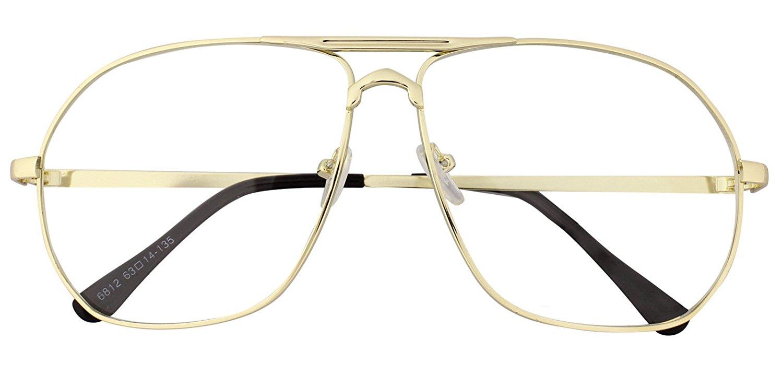 490639f1f80 Get Quotations · Oversized Sunglasses Pilot Top Aviator Retro Driving  Designer Glasses Eyewear