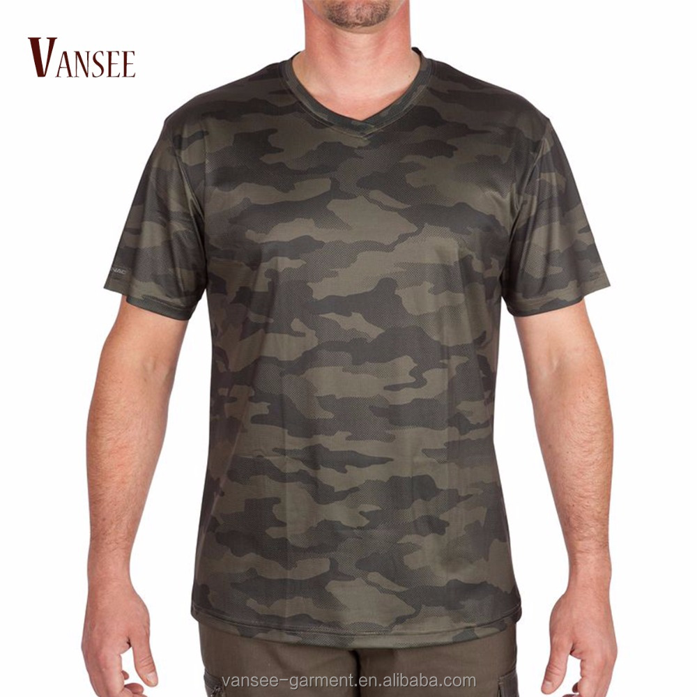 sports t shirts black blue green gray camouflage cool 100% polyester mesh sports running dry fit camo T shirt