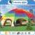 Cheap wholesale camping inflatable tent inflatable football field tent