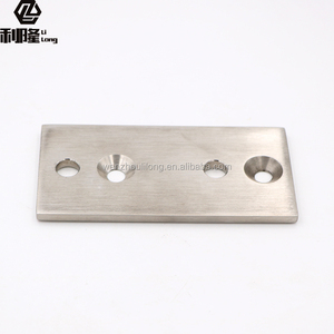 Lilong Stainless steel 304 316 round post handrail base plate cover hot sale