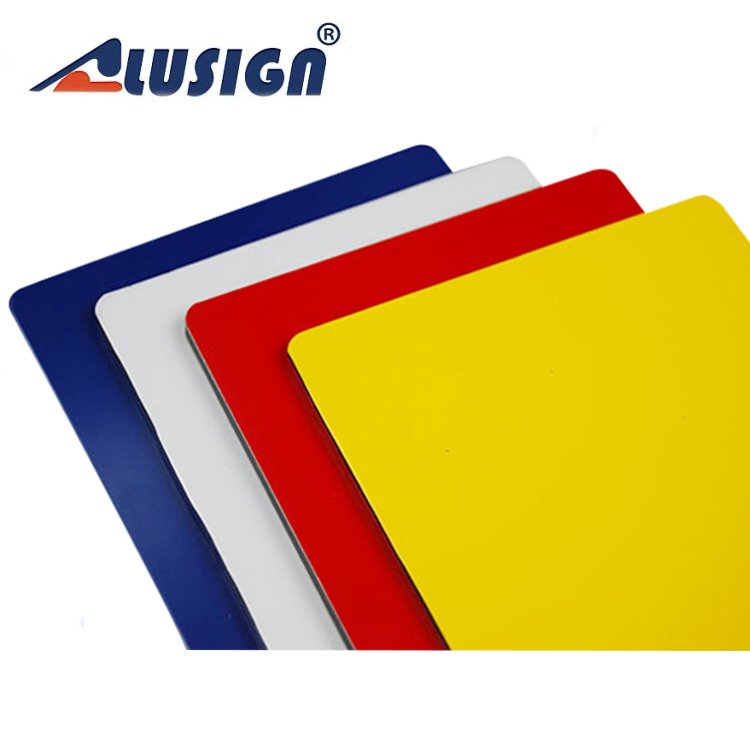 Alusign high type composite panels marine