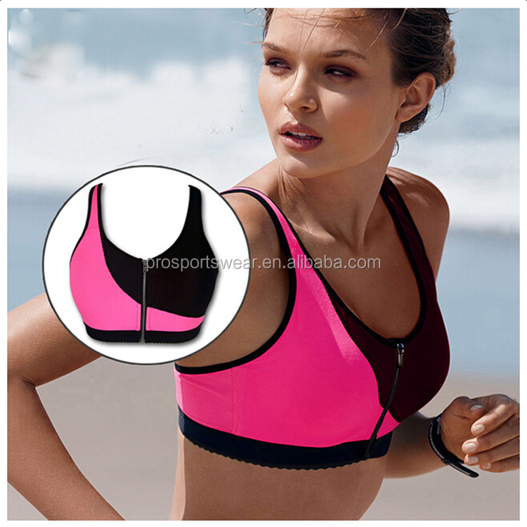 Wholesale Supplex Yoga Bra/Women Sportswear/Fitness Gym Underwear For Ladies