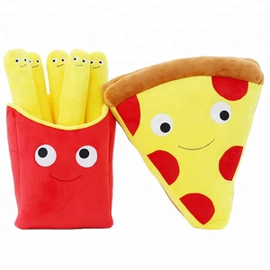 Wholesale creative food pillow cute French fries plush toys
