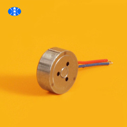 0832 AC coin type vibration motor, linear motor for mobile phone