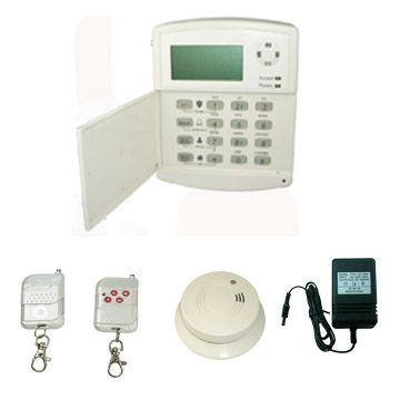 Wired/Wireless GSM Alarm System, Can use with Central Monitoring Station/GSM Alarm /SSG-O-GSM2 (Support CMS)
