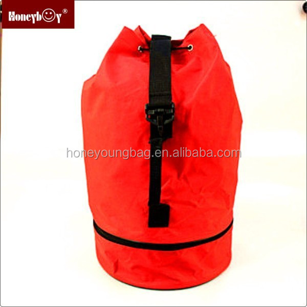 2015 customized Personalized promotion barrel duffel bag China Supplier