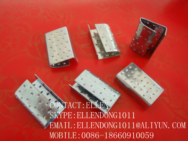 PET STRAPPING SEALS.strapping clips,steel strapping