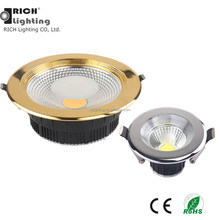 <span class=keywords><strong>מקרה</strong></span> זהב 25 W CRI 95 COB <span class=keywords><strong>Downlight</strong></span> שקוע תקרת Led