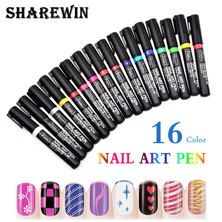 Nail art pen nail art pen suppliers and manufacturers at alibaba prinsesfo Gallery