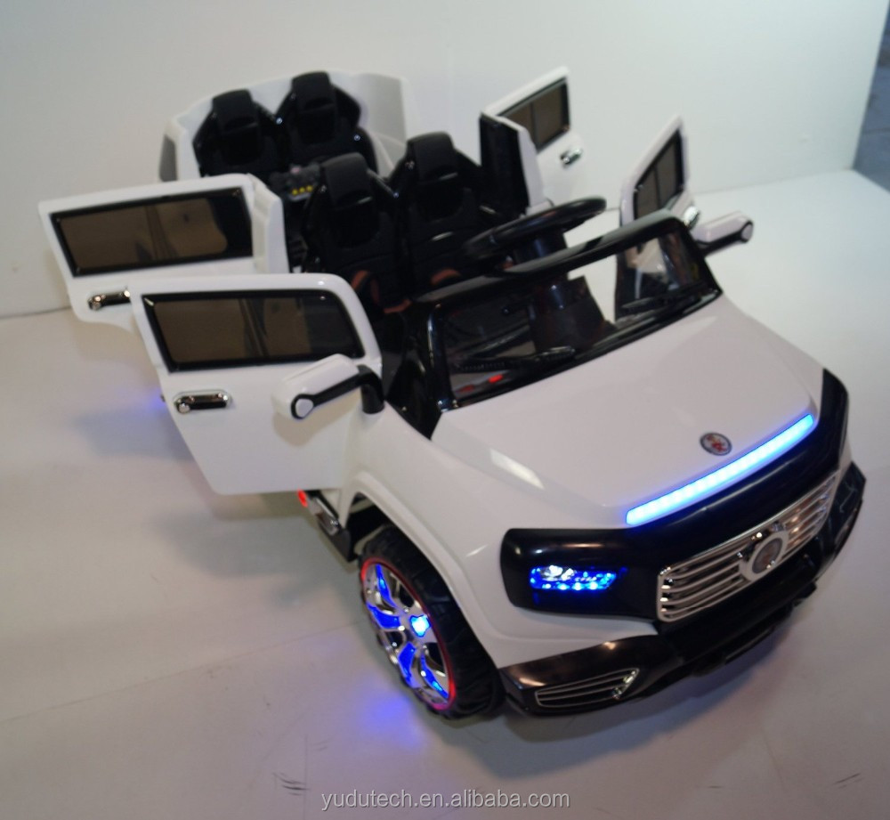 stunning 2 seater big suv style 12v battery operated car for kids with music lights