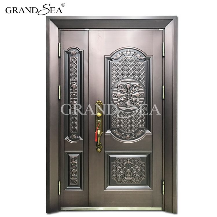 Ghana market one and half door-leaf mon son steel door burglar proof design  sc 1 st  Alibaba & Ghana Market One And Half Door-leaf Mon Son Steel Door Burglar ...