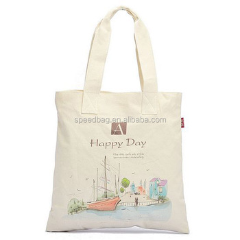 China supplier canvas tote bags custom printed canvas tote bags