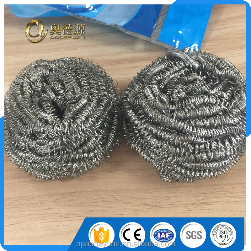 Anping suply 410 stainless steel scrubber / stainless steel scouring pad
