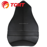 TCMT XF-545 Motorcycle Rear Seat Passenger Pillion For DUCATI 1098 1198 848 Black Artificial Leather