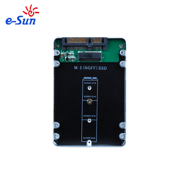 M 2 Ngff Ssd To 2 5 Hdd Enclosure Case With Sata Interface Buy M