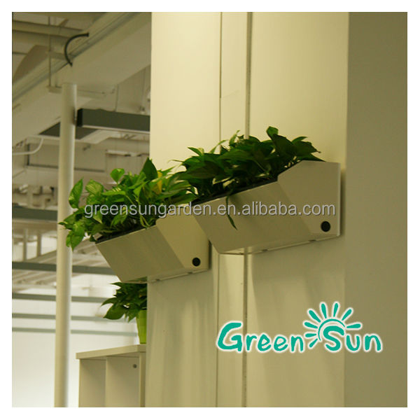 Alibaba China Supplier Home Decor Garden Wall Mounted Plant Pots ...