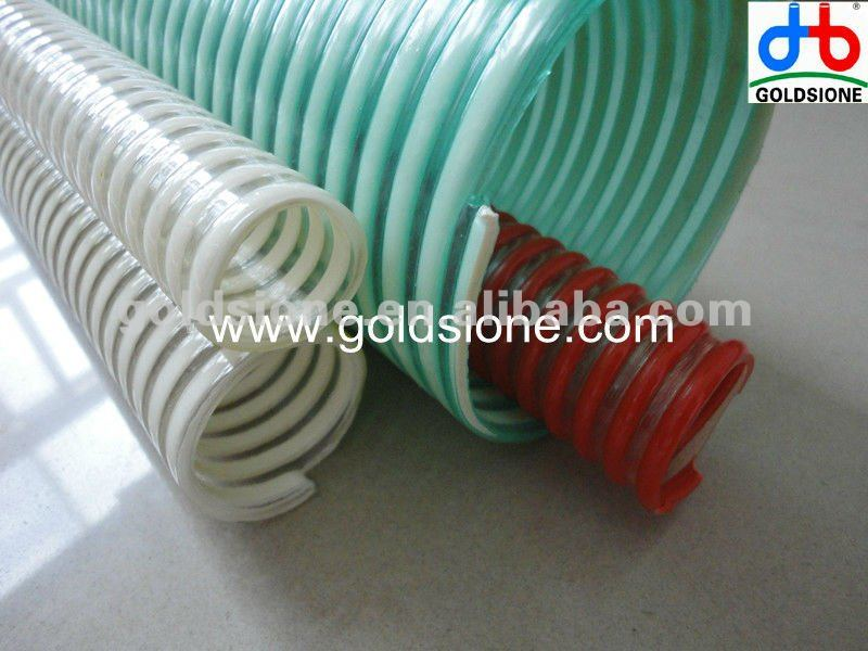 Manufacture PVC anti crush flexible suction hose