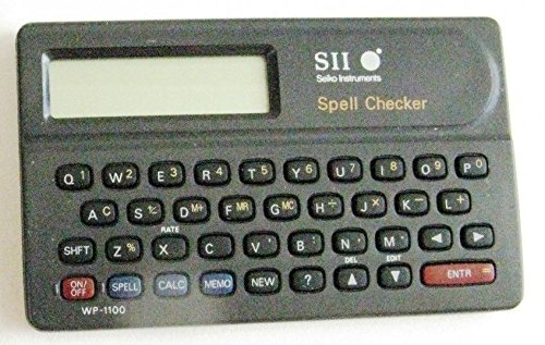 Seiko Instruments, Inc. SII Seiko Instruments Roget's II: The New Thesaurus & Spell Checker