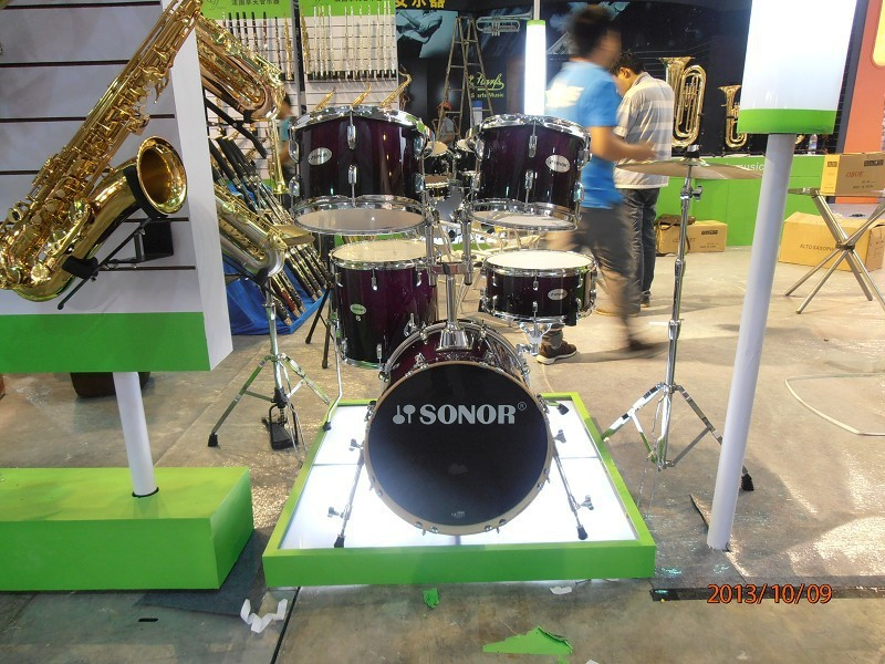 4PCS Marching Drum Venda / Marching Drum Com 7-Ply Basswood Shell