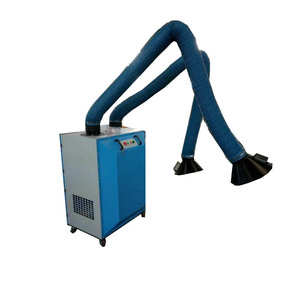 Industrial Portable Dust Collector Welding Fume Extractor Mobile Fume Collector