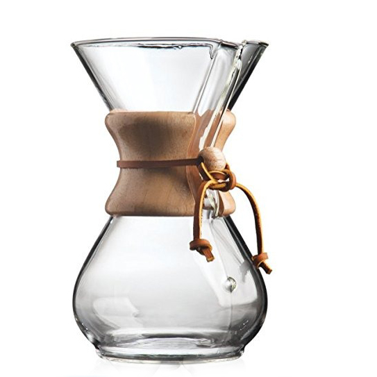 Stock 5-8 Cup Glass Pour Over <strong>Coffee</strong> <strong>Maker</strong> with Anti-dust Lid