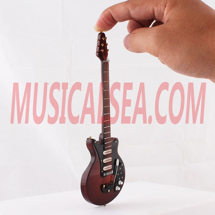 Mini Electric Guitar Christmas Tree Ornament And Miniature Musical ...