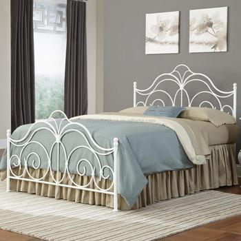 Gunstige Schmiedeeisen Bett Metall Stahl Bett Buy Gunstige Bett