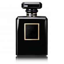 Square100ml <span class=keywords><strong>Hitam</strong></span> Crimp <span class=keywords><strong>Kaca</strong></span> <span class=keywords><strong>Botol</strong></span> <span class=keywords><strong>Parfum</strong></span> dengan Topi <span class=keywords><strong>Hitam</strong></span>