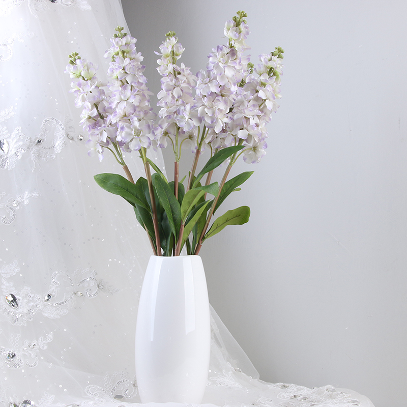 china wholesale artificial flower Single violet decoration flower for flower wall backdrop