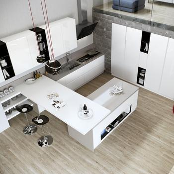 Blanco Y Negro Nuevo Diseño Modular Muebles De Cocina Con Moderno Mini Bar  - Buy Nuevo Diseño De Cocina,Muebles De Cocina De Nuevo Diseño,Muebles De  ...