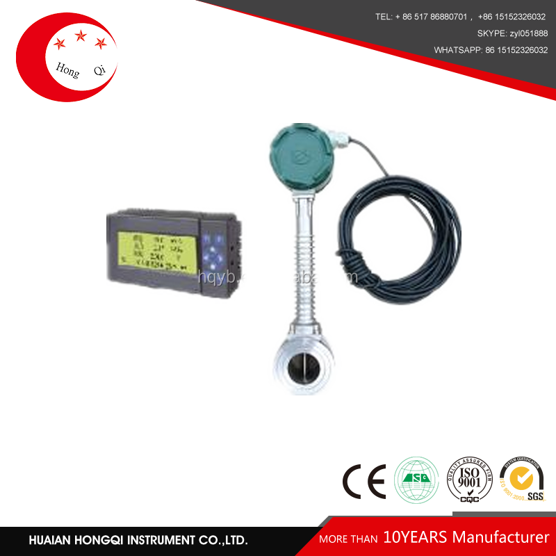 Low cost Span rate 10:1 hydraulic oil flow meter RS485 communication with cheap price