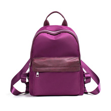 New style Casual backpack nylon travelling women bag