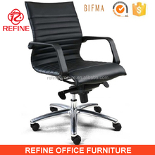 comfortable ergonomic leather executive hotel room desk chair RF-S076M