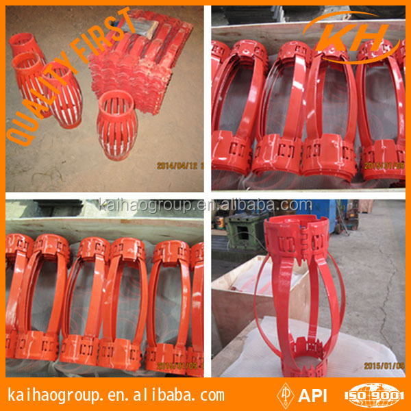 API Spec drilling centralizer for casing Shandong Pro