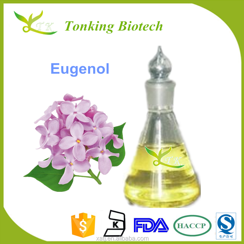 100% Pure Eugenol (CAS No. 97-53-0) from Clove