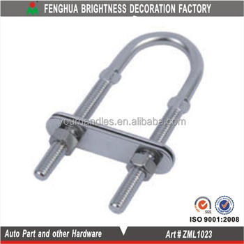 Stainless Steel 304 U-bolts With A Mounting Plate - Buy U-bolt Pipe  Clamp,U-bolt Bending Machine,Jis Standards For U-bolt Product on Alibaba com