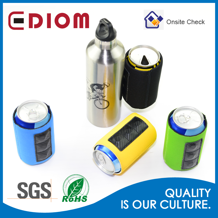Wholesale Custom Neoprene Blank Magnetic Can Cooler