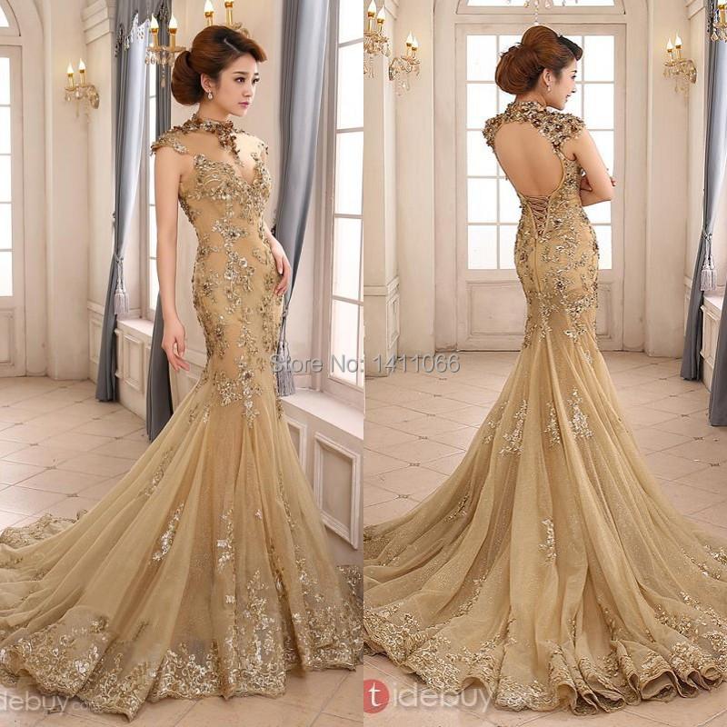 Online Get Cheap Gold Wedding Dresses -Aliexpress.com ...
