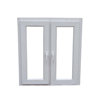 China hot sell multi style upvc / pvc casement windows design for toilet