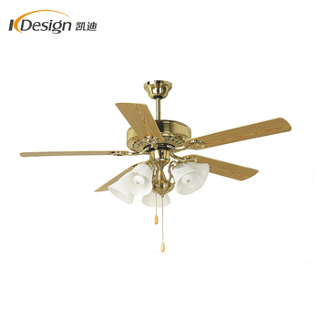 220v Royal 52 Inch Ceiling Fan Light Ac Motor Dining Room 5 Flower Lights Decorative