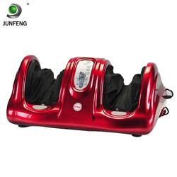 Blood circulation vibrating electric foot massager machine